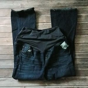 Old Navy maternity boot cut jeans size 16